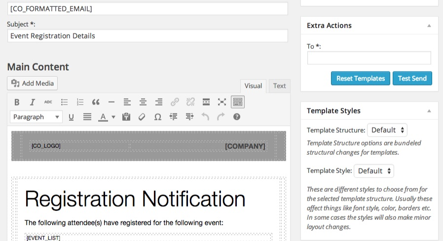 Customizable Confirmation Emails Sell Tickets Online Event