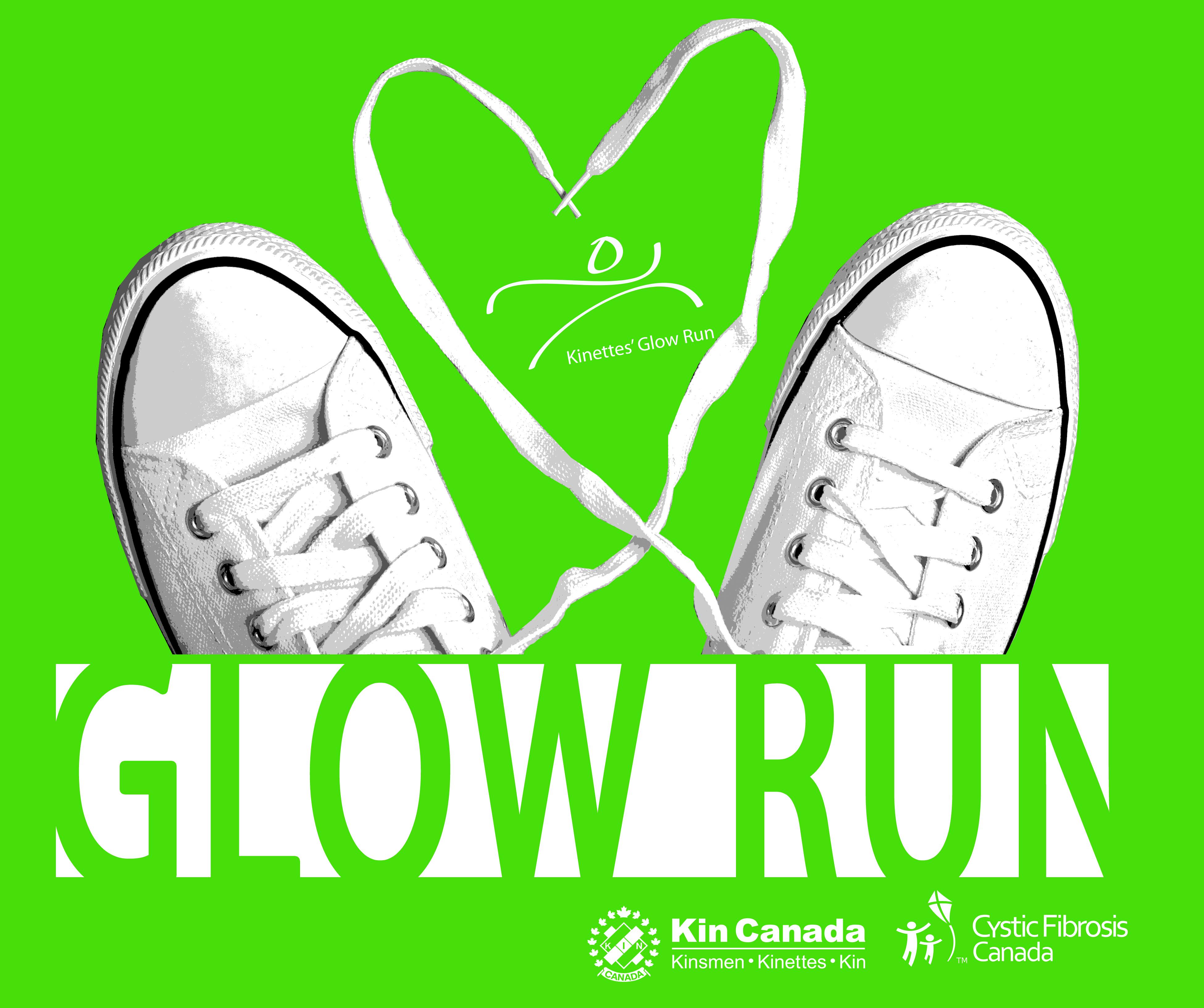 Kinette's Glow Run 2017