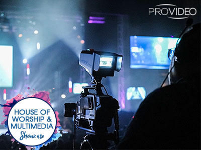 ProVideo Systems House of Worship and Multimedia A/V Showcase 2018