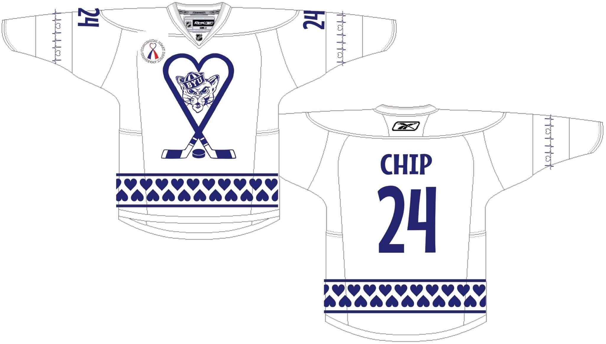 The first 20 families to order will have their jersey worn by one of the  players during the game! 71d033f4fbf