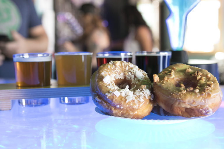 beer and donut pairing