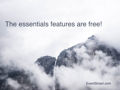 The Essential Online Event Registration and Ticketing Features are Free