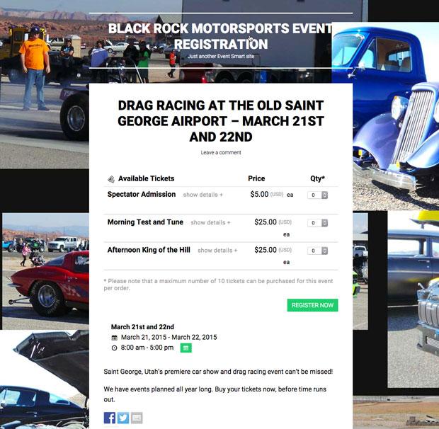 Blackrock Motorsports Tickets