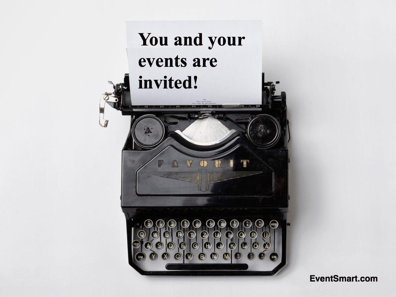 Online event registration ticketing invitation event website