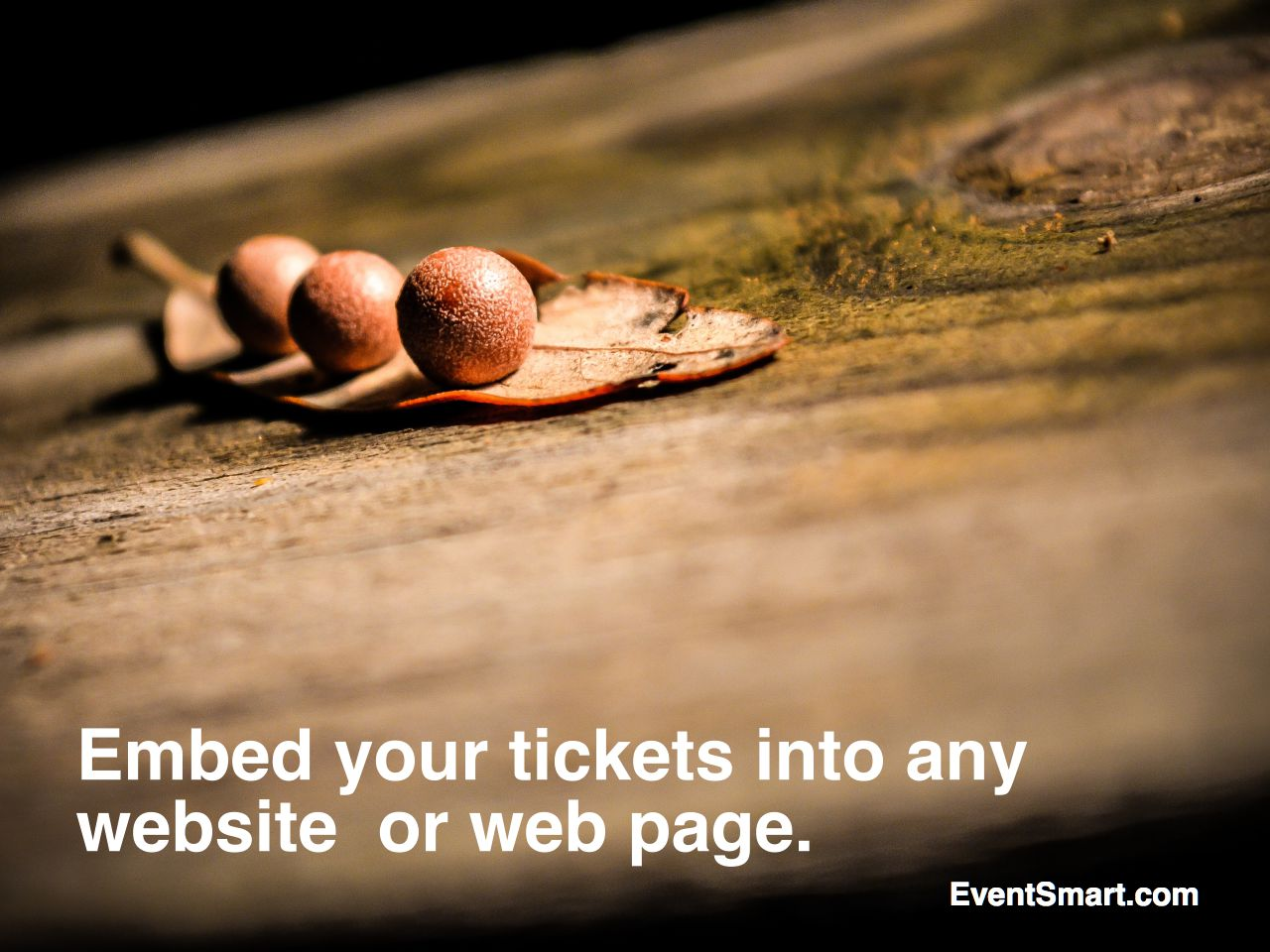 Embed your online event registration tickets into any website or web page