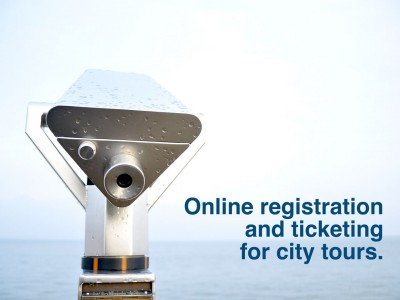 Online Registration & Ticketing for City Tours