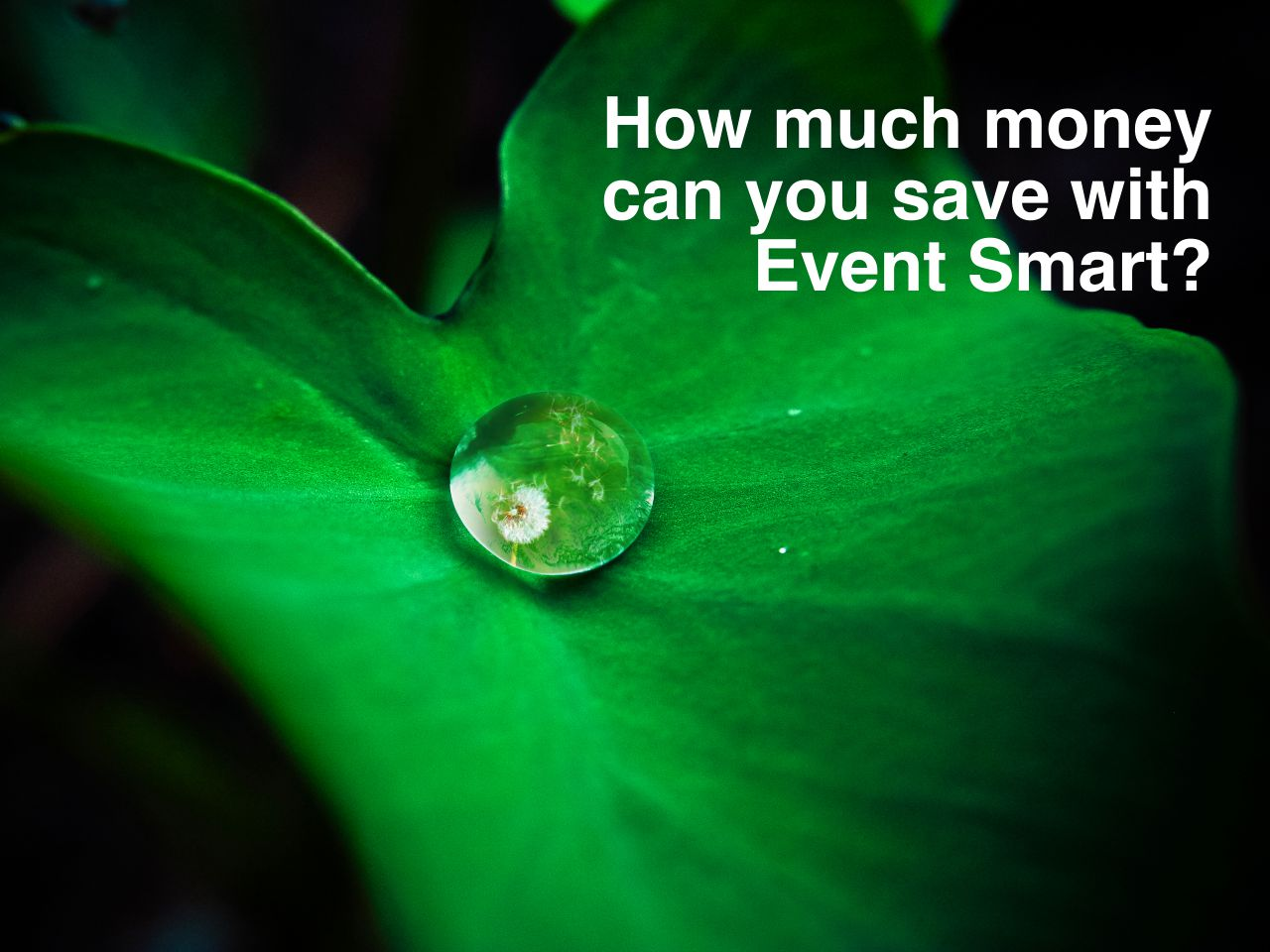How Much Money Can You Save with Event Smart?