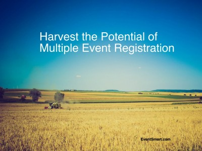 Multiple Event Registration Now Available