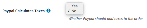 PayPal taxes