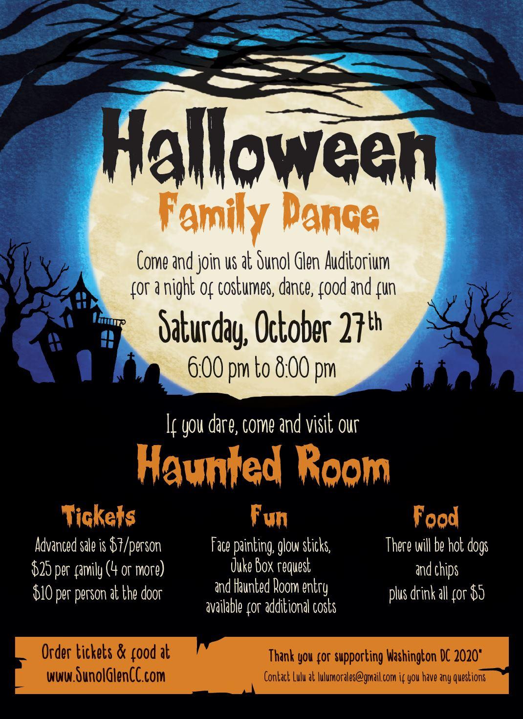 Halloween 2020 Washington Dc Halloween Family Dance 2018   Washington DC 2020 Fundraiser