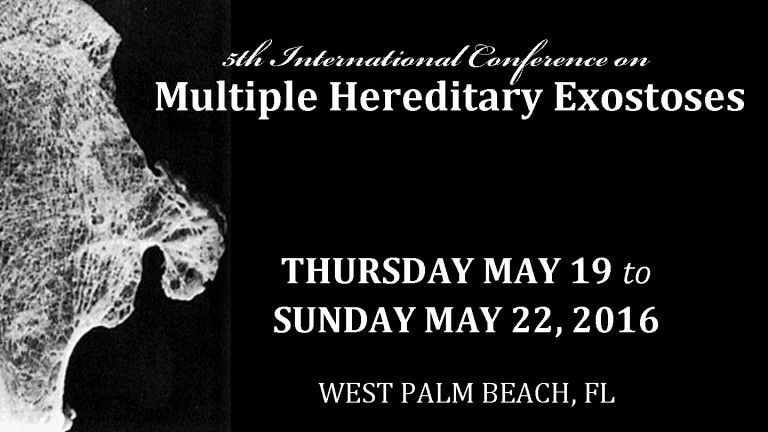 5th International Research Conference on Multiple Hereditary Exostoses