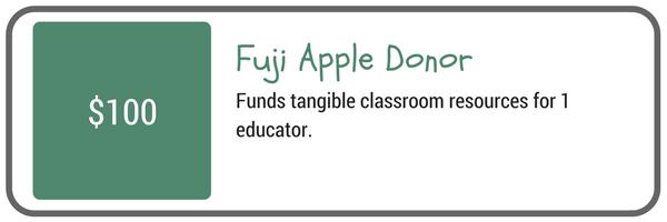 Fuji Apple Donor