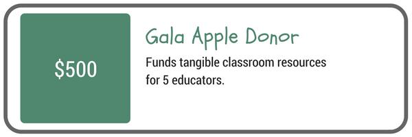 Gala Apple Donor