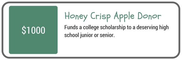 Honey Crisp Apple Donor