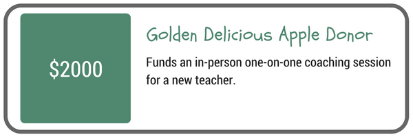 Golden Delicious Apple Donor