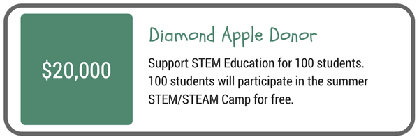 Diamond Apple Donor