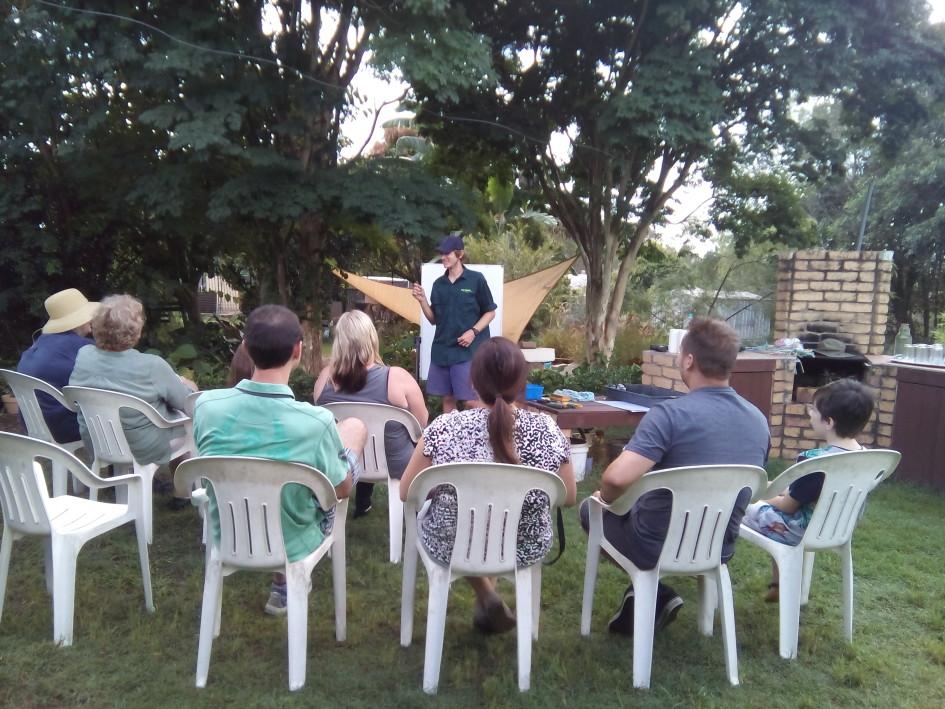 'Upcoming Events, Gardening Workshops, Native Stingless Beehive Splitting, Family Friendly Fun