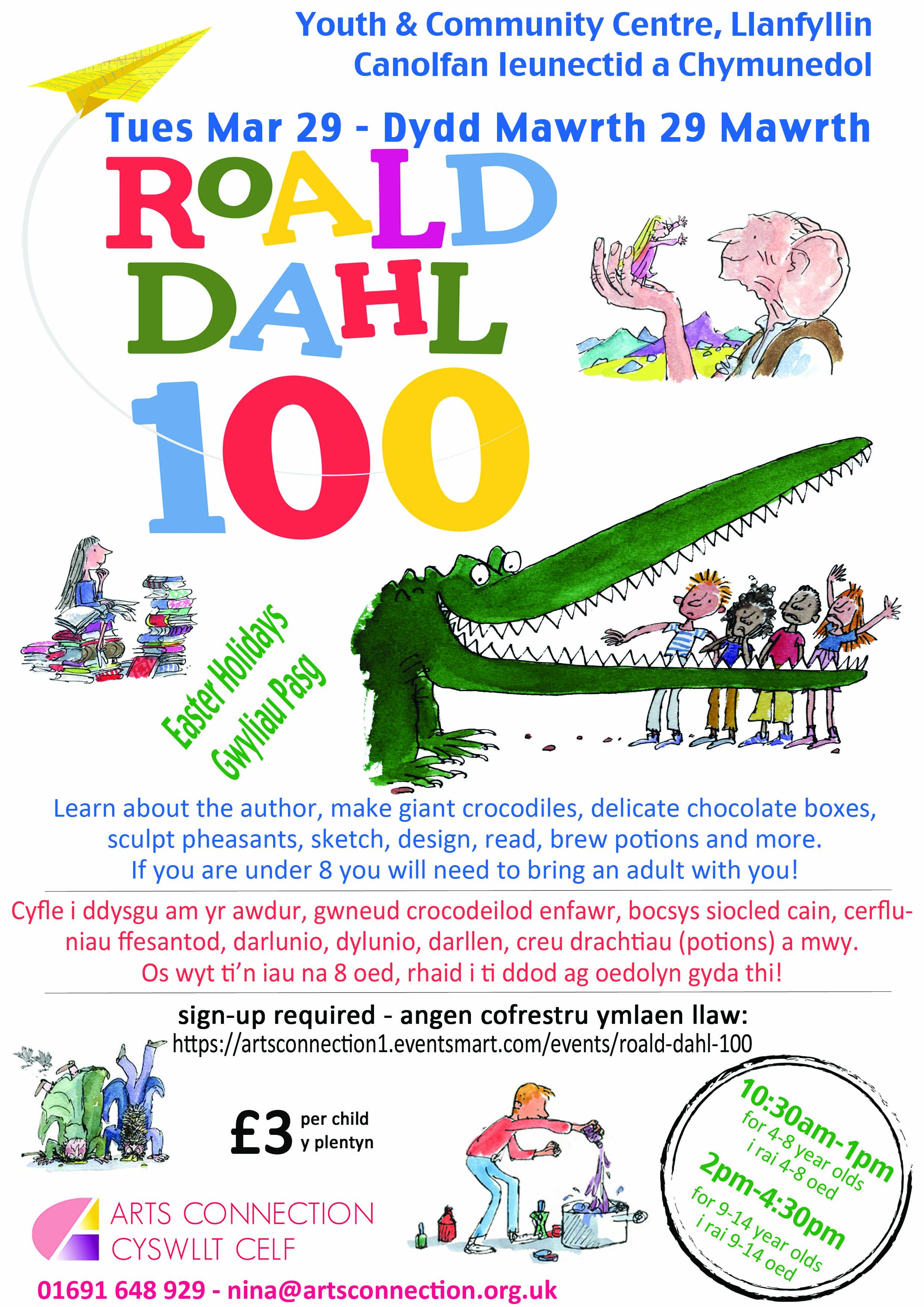 Roald Dahl 100 - artsconnection1