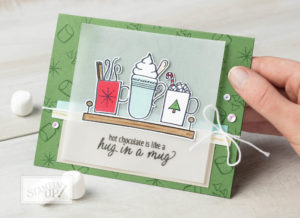 Hot Chocolate Mugs Christmas Card